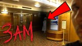 HAUNTED QUEEN MARY SHIP AT 3AM - Ghost Hunting In A Haunted Ship!