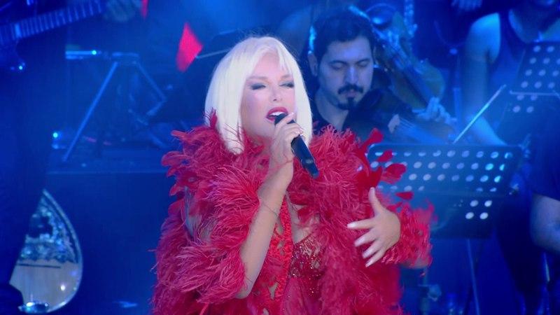 Ajda Pekkan - Ayrılık Ateşi (Konser)