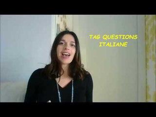 LEARN ITALIAN TAG QUESTIONS: VERO? NO? SBAGLIO? NON PENSI? e altre