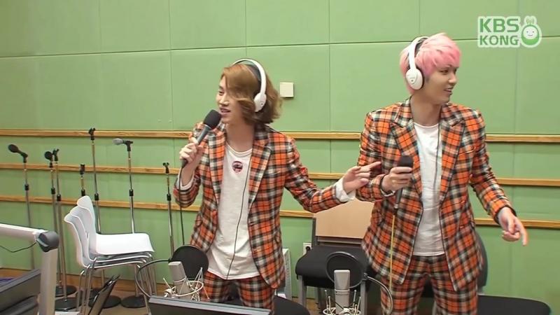 [슈퍼주니어의 키스더라디오] MD 정줄놓은 UPDOWN 노래방
