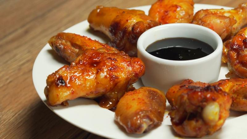 Куриные крылышки в медово-соевом соусе. Азиатская кухня. Рецепт от Всегда вкусно!
