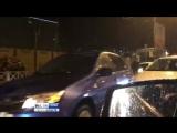 Массовое ДТП в Сочи, 6 автомобилей столкнулись на мокрой дороге. 04.03.18