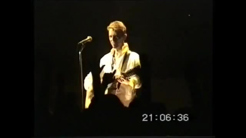 David Bowie - Quicksand (Shepherds Bush Empire, London - 12.08.1997)
