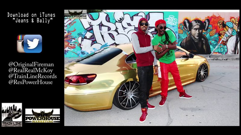 Anthony B feat. Real McKoy - Jeans and Bally (official video Apr 2018)