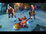 Тизер образов: Амбициозный эльф Джинкс, Санта-Дрейвен, Снежный олененок Поппи | League of Legends