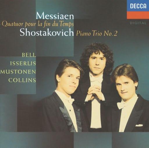 Joshua Bell альбом Messiaen: Quatuor pour le fin du temps / Shostakovich: Piano Trio No.2