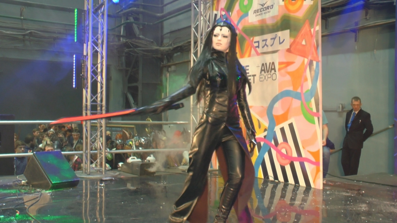 Cosplay Pcell Blame /Ava Expo2017/