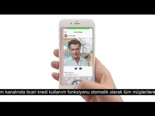 Kıvanç Tatlıtuğ/ Kıvanc Tatlıtug - Akbank - Mobil Ürünler - Ticari Kredi Kullanımı