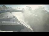 Catch our drift Melbourne - Daniel Ricciardo meets Mad Mike for an Albert Park drift!