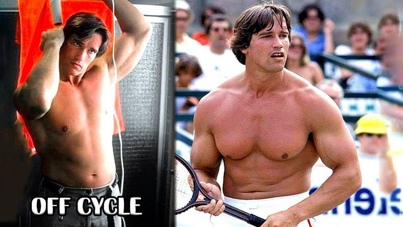 When Arnold Schwarzenegger Stop Taking STEROIDS !!