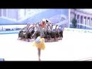 Фрагмент показательного номера гимнасток ЦХГ Жемчужина на открытии соревнований Жемчужины СПб