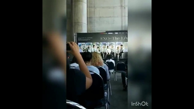 [LQ FANCAM] 180317 `The EℓyXiOn` in Bangkok: D-2 Press Conference @ EXO