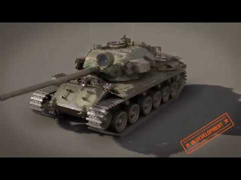 World of Tanks Супертест Centurion Mk 5 1 RAAC