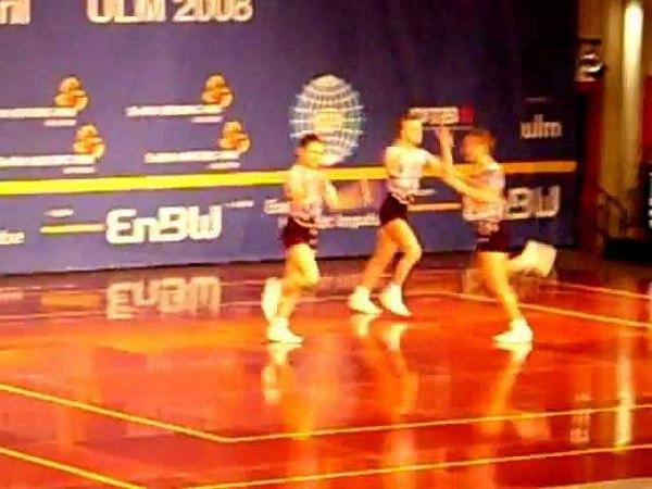Trio_Russia 2008 WC aerobic gymnastics