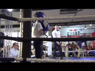Первый турнир сына по боксу 27 апреля 2018