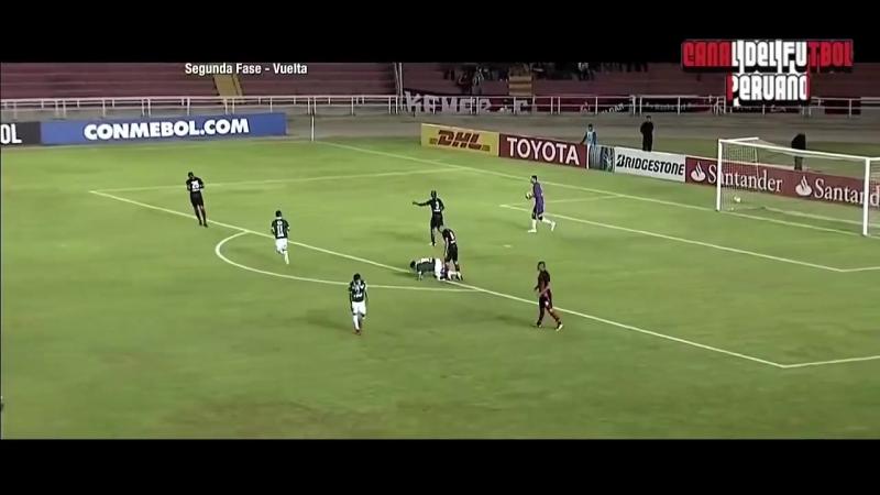 Melgar vs Santiago Wanderers 0-1 (1-2) Resumen Gol Copa Libertadores 06_02_2018