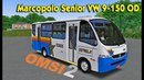 Omsi 2. Автобус Marcopolo Senior VW 9-150 OD для Omsi 2