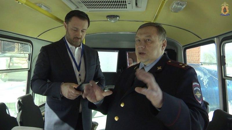 Рязанские полицейские наглядно продемонстрировали, как работает Мобильный биометрический комплекс