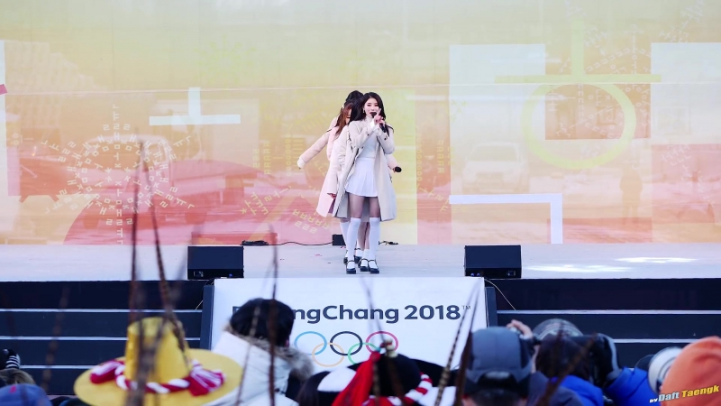 180123 | Lovelyz - Hi~ | 2018 PyeongChang Winter Olympics Torch Relay Celebration Event