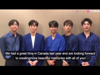VIXX Shangri-la in Canada Tour Announcement Video