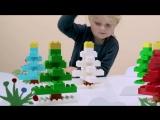 LEGO DUPLO - Строим Елочку