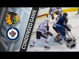Chicago Blackhawks vs Winnipeg Jets apr 7, 2018 HIGHLIGHTS HD