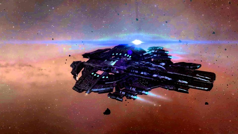 EVE Online Nyx Supercarrier