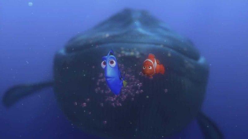 В поисках Немо 3D - язык китов