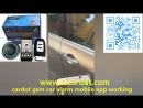Cardot gsm car alarm is working with toyota camry car control car central lock unlock by mobile app remote start stop engin