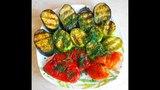 Овощи на Электрическом гриле GFGril  GF-070 / Как приготовить овощи сохранив полезные вещества.
