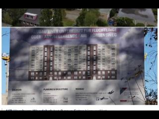 Hamburgs Asylindustrie BRUMMMT- Wohnungen für Asylanten- Flüchtlinge