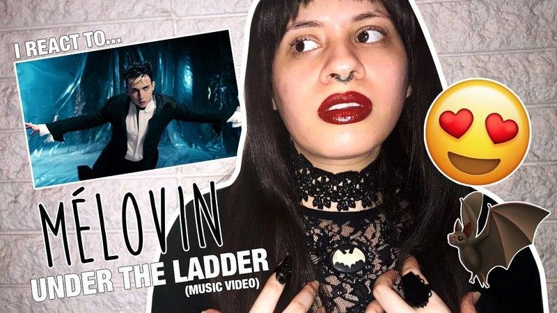 I react to MÉLOVIN Under The Ladder   Krystina Maria