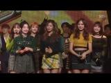 171119 Twice занимают первое место на Inkigayo и получают свою шестую награду с Likey.