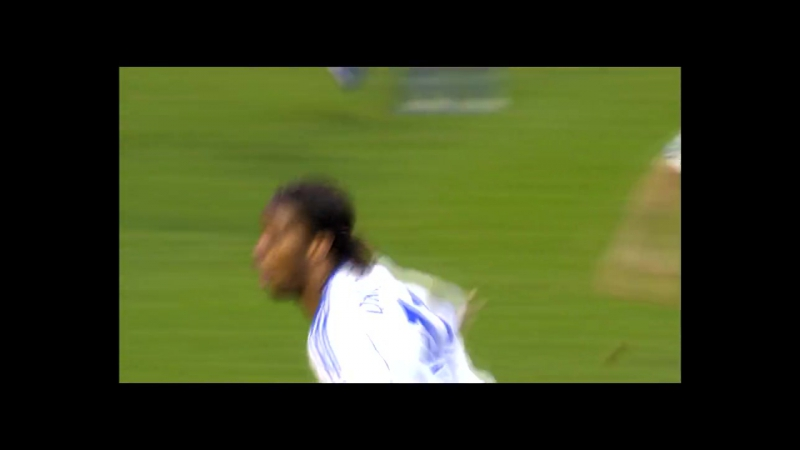 Невероятный победный гол Дрогба на 87 минуте матча в ворота «Эвертона»