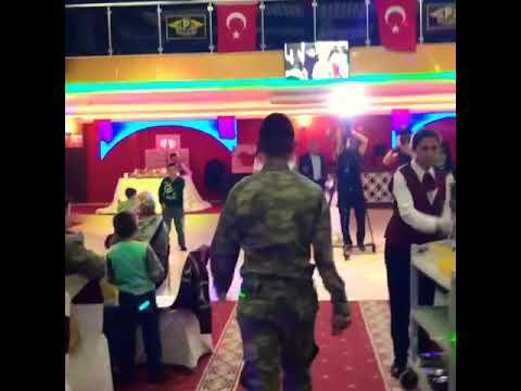 Poyraz Düğün Salonları Antalya (Gelin Hanım'ın 🇹🇷Asker🇹🇷Kardeşinden Muhteşem Düğün Süprizi👏👏)