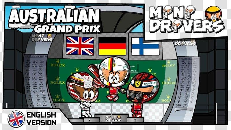 [EN] MiniDrivers - 10x01 - 2018 Australian Grand Prix
