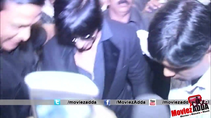 Shahrukh Khan Returns From TOIFA Awards 2013 !