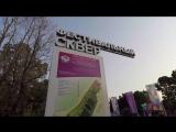 Открытие сквера «Фестивальный» в честь ХIХ Всемирного фестиваля молодежи и студентов.