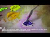 Мраморная паста для объемной живописи маслом и акрилом. Олег Буйко. Marble paste for texture