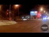 ДТП на Герцена, Омск (02.03.2018)