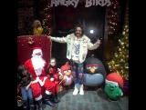 """Филипп Киркоров с детьми на премьере новогоднего шоу """"Angry Birds: спасти Новый год»,27/12/17"""