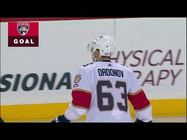 Evgeni Dadonov scores from sharp angle vs Islanders (2018)