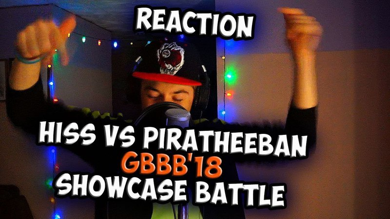 HISS vs PIRATHEEBAN | Grand Beatbox SHOWCASE Battle 2018 | Reaction (ENG SUB)