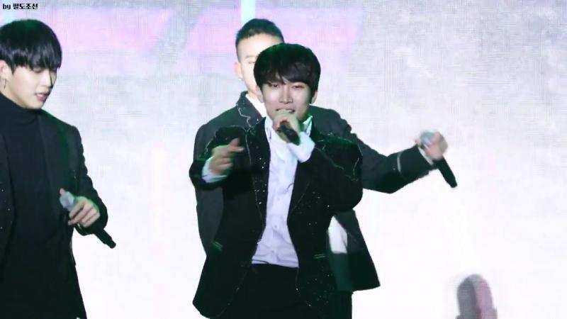 [FANCAM] 13.01.2018: BTOB - MOVIE (Фокус на Ынквана) @ Gwanghwamun Pyeongchang Olympics Torch Relay Event