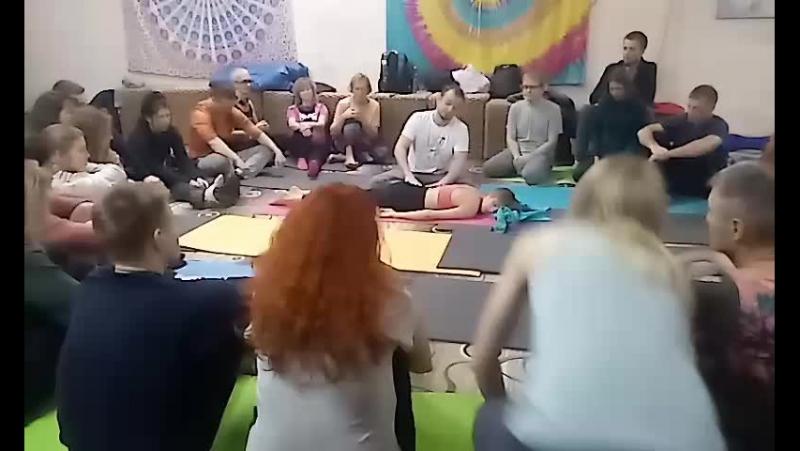 Тантрический йога-массаж. Евгений Илинскас.