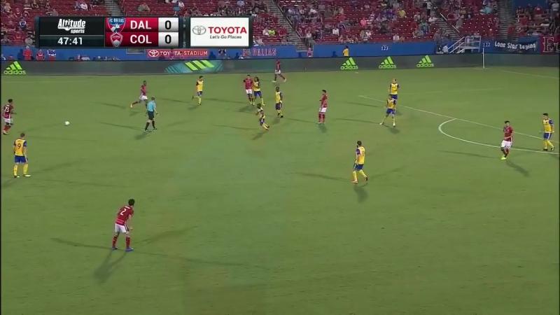 Обзор матча ФК Даллас и Колорадо Рэпидз | 12 августа 2017 года (0:0)