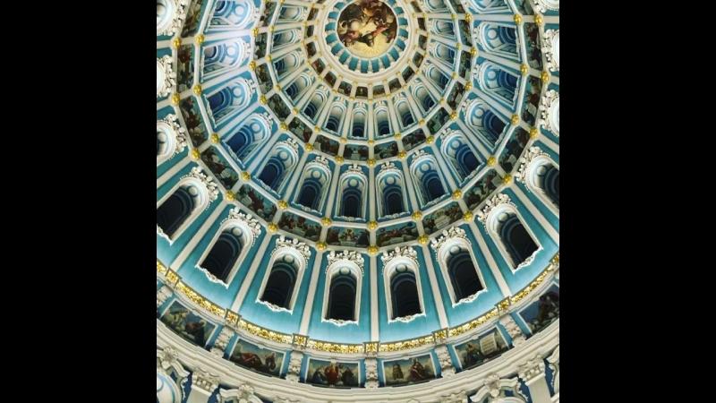 Ротонда над кувуклией в Воскресенском Соборе Новоиерусалимского Монастыря