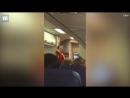 Стюард объяснил правила безопасности полетов сексуальным танцем