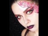Fashion make-up by KriStina X