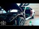 ПЕРЕТЯЖКА САЛОНА ШУМОИЗОЛЯЦИЯ Забрал Mercedes Benz W126 купе FORD к соревнованиям по автозвуку SQ